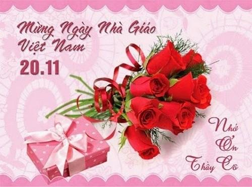 Tổng hợp mẫu thiệp chúc mừng ngày nhà giáo Việt Nam 20/11 - anh 3