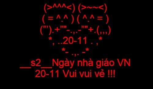 Tin nhắn sms chúc mừng ngày nhà giáo Việt Nam 20/11 ý nghĩa nhất - anh 1
