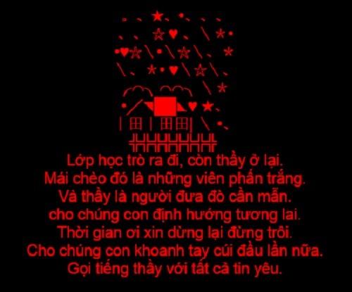 Tin nhắn sms chúc mừng ngày nhà giáo Việt Nam 20/11 ý nghĩa nhất - anh 6
