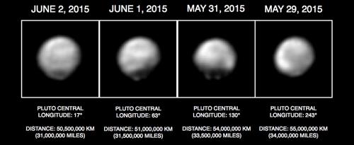 Hình ảnh mới nhất về sao Diêm Vương từ tàu New Horizons - anh 1