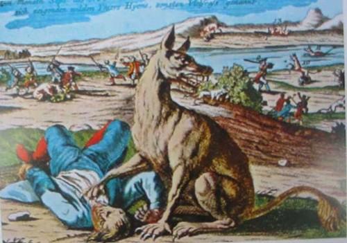 """Kinh hoàng """"quái thú"""" xé xác hàng trăm người ở miền Trung nước Pháp - anh 2"""