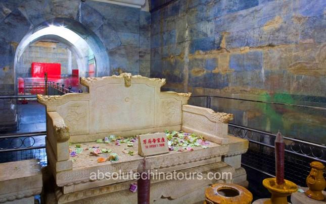 Thực hư 800 tấn kho báu trong lăng mộ nữ hoàng Võ Tắc Thiên - anh 1