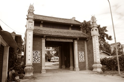 Làng cổ Đường Lâm - Hồn quê phảng phất giữa Hà thành - anh 1
