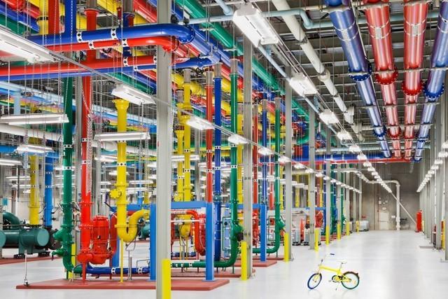Khám phá bên trong trung tâm dữ liệu khủng lồ của google - anh 20