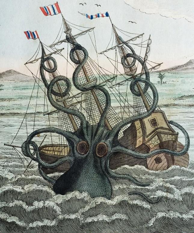 Cận cảnh thủy quái bị bắt sống ở Nam Cực - anh 3