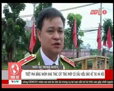 Gần 200 cảnh sát vây bắt 'cát tặc' lộng hành trên sông Hồng - anh 1