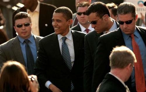 Tổng thống Obama được đội cận vệ 'trang bị tận răng' bảo vệ như thế nào? - anh 1
