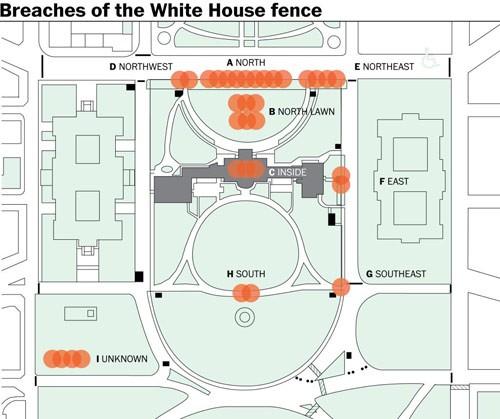 Những vụ đột nhập Nhà Trắng khiến mật vụ Mỹ 'bẽ mặt' - anh 2