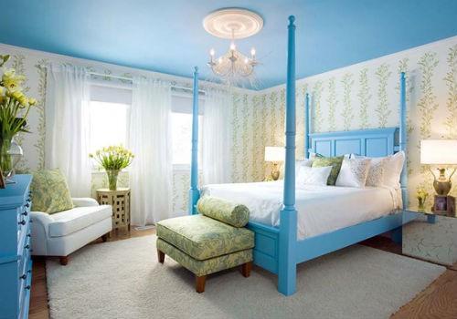 Bí quyết chọn sơn tường phòng ngủ giúp vợ chồng 'yêu' nhiều hơn - anh 2