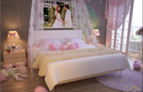 Bí quyết chọn rèm cửa phòng tân hôn giúp vợ chồng hạnh phúc - anh 10