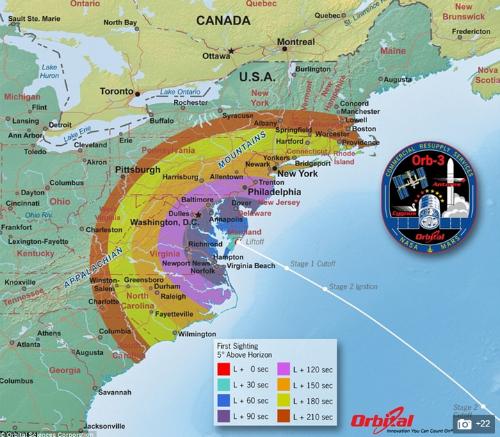 Chùm ảnh: Tàu tiếp tế cho Trạm Vũ trụ Quốc tế nổ tung xác pháo - anh 12
