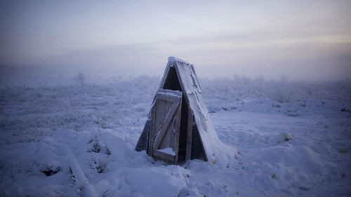 Chùm ảnh: Cuộc sống của người dân ở ngôi làng lạnh nhất thế giới Oymyakon - anh 3