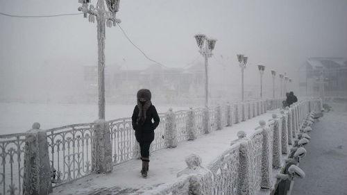 Chùm ảnh: Cuộc sống của người dân ở ngôi làng lạnh nhất thế giới Oymyakon - anh 4