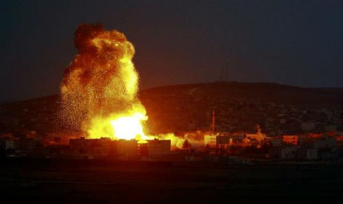 IS cáo buộc Mỹ và liên minh giết chết dân thường ở Syria - anh 2