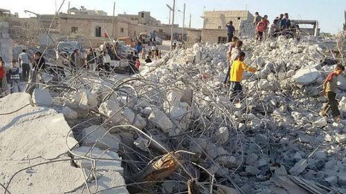 IS cáo buộc Mỹ và liên minh giết chết dân thường ở Syria - anh 3