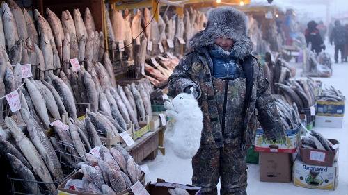 Chùm ảnh: Cuộc sống của người dân ở ngôi làng lạnh nhất thế giới Oymyakon - anh 16