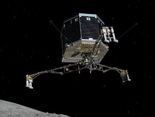 Tàu thăm dò sao Chổi Philae hạ cánh thành công sau 10 năm bay - anh 1