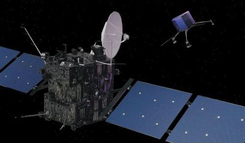 Tàu thăm dò sao Chổi Philae hạ cánh thành công sau 10 năm bay - anh 2