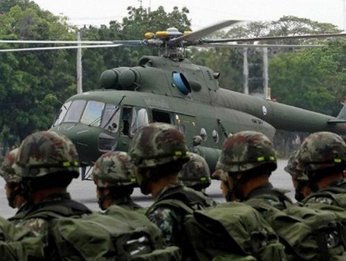 Máy bay quân sự Thái Lan rơi, 9 người thiệt mạng - anh 2