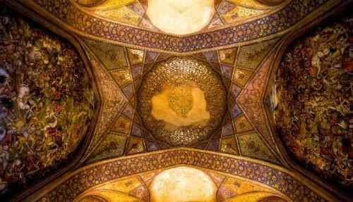 Tuyệt phẩm đẹp ngỡ ngàng bên trong nhà thờ Hồi giáo trên thế giới - anh 12