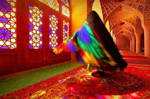 Tuyệt phẩm đẹp ngỡ ngàng bên trong nhà thờ Hồi giáo trên thế giới - anh 5