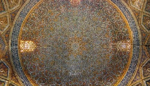 Tuyệt phẩm đẹp ngỡ ngàng bên trong nhà thờ Hồi giáo trên thế giới - anh 15