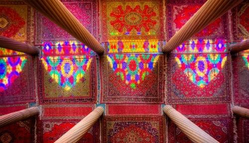 Tuyệt phẩm đẹp ngỡ ngàng bên trong nhà thờ Hồi giáo trên thế giới - anh 9