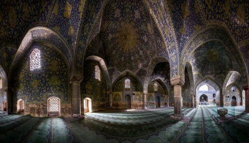 Tuyệt phẩm đẹp ngỡ ngàng bên trong nhà thờ Hồi giáo trên thế giới - anh 16