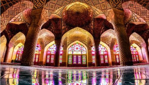 Tuyệt phẩm đẹp ngỡ ngàng bên trong nhà thờ Hồi giáo trên thế giới - anh 10
