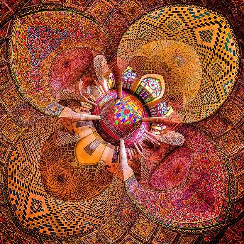 Tuyệt phẩm đẹp ngỡ ngàng bên trong nhà thờ Hồi giáo trên thế giới - anh 6