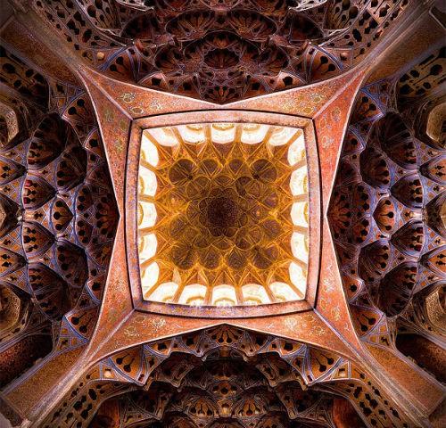 Tuyệt phẩm đẹp ngỡ ngàng bên trong nhà thờ Hồi giáo trên thế giới - anh 7