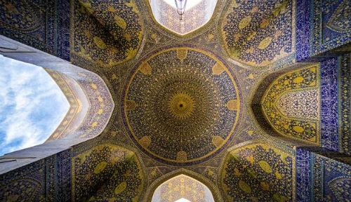 Tuyệt phẩm đẹp ngỡ ngàng bên trong nhà thờ Hồi giáo trên thế giới - anh 19