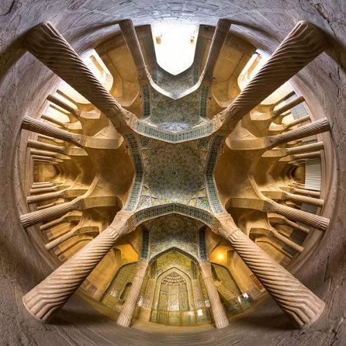 Tuyệt phẩm đẹp ngỡ ngàng bên trong nhà thờ Hồi giáo trên thế giới - anh 8
