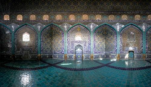 Tuyệt phẩm đẹp ngỡ ngàng bên trong nhà thờ Hồi giáo trên thế giới - anh 20