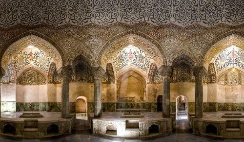 Tuyệt phẩm đẹp ngỡ ngàng bên trong nhà thờ Hồi giáo trên thế giới - anh 21