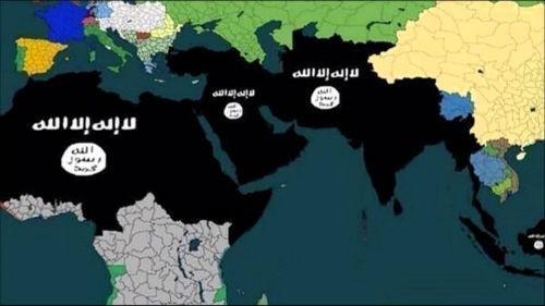 Bản đồ thế giới nhuốm màu đen vì mạng lưới đồng minh IS dâng cao đột biến - anh 1