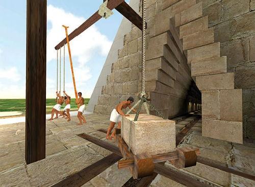 Phát hiện mới trong quy trình xây dựng kim tự tháp của người Ai Cập cổ - anh 2