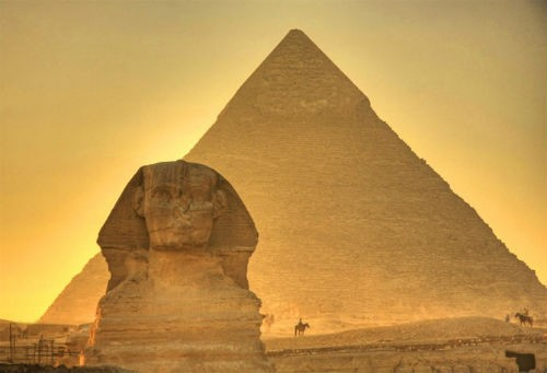 Phát hiện mới trong quy trình xây dựng kim tự tháp của người Ai Cập cổ - anh 1