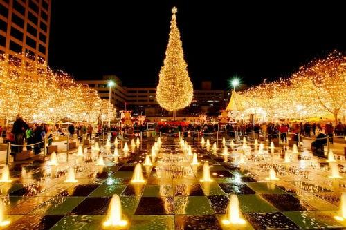 Ngắm nước Mỹ quyến rũ trong sắc màu Giáng sinh 2014 - anh 1