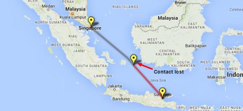Chùm ảnh: Toàn cảnh vụ máy bay AirAsia QZ8501 mất tích - anh 9