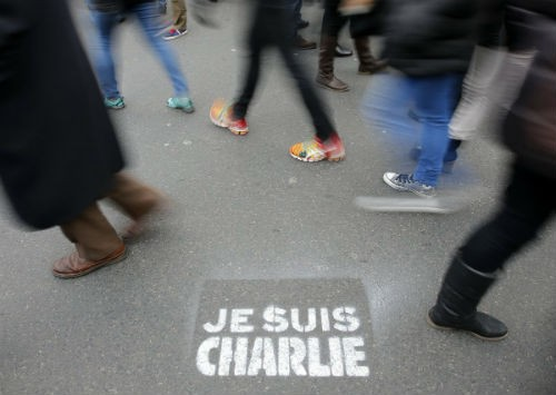 44 nhà lãnh đạo cấp cao về Paris tưởng niệm nạn nhân vụ xả súng tại Pháp - anh 3