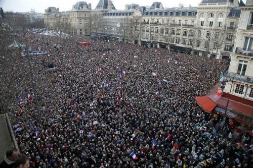 44 nhà lãnh đạo cấp cao về Paris tưởng niệm nạn nhân vụ xả súng tại Pháp - anh 5