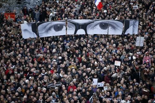 44 nhà lãnh đạo cấp cao về Paris tưởng niệm nạn nhân vụ xả súng tại Pháp - anh 6