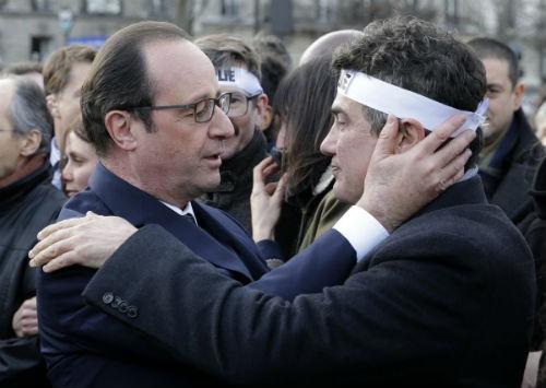 44 nhà lãnh đạo cấp cao về Paris tưởng niệm nạn nhân vụ xả súng tại Pháp - anh 8