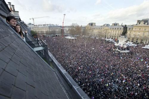 44 nhà lãnh đạo cấp cao về Paris tưởng niệm nạn nhân vụ xả súng tại Pháp - anh 9
