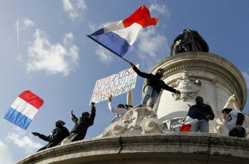 44 nhà lãnh đạo cấp cao về Paris tưởng niệm nạn nhân vụ xả súng tại Pháp - anh 2
