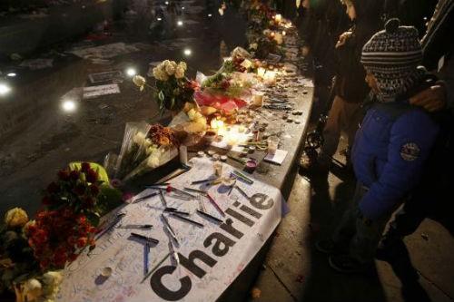 44 nhà lãnh đạo cấp cao về Paris tưởng niệm nạn nhân vụ xả súng tại Pháp - anh 19