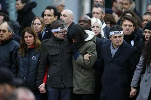 44 nhà lãnh đạo cấp cao về Paris tưởng niệm nạn nhân vụ xả súng tại Pháp - anh 20