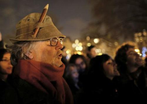 44 nhà lãnh đạo cấp cao về Paris tưởng niệm nạn nhân vụ xả súng tại Pháp - anh 13