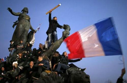 44 nhà lãnh đạo cấp cao về Paris tưởng niệm nạn nhân vụ xả súng tại Pháp - anh 15